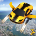 Flying Robot Car – Robot Shooting Games MOD APK 1.5