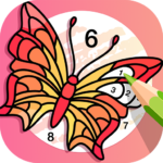 🌈Fun Coloring🌈 Color By Number Pages Paint Happy MOD APK 2.6.0