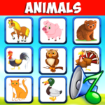 Animal sounds for babies. Learning animals free MOD APK 4.5