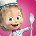 Masha and Bear: Cooking Dash MOD APK 1.3.1