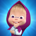 Masha and The Bear: 👧🐻 Animated Launcher MOD APK 1.15