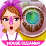 Messy House Cleanup Girls Home Cleaning Activities MOD APK 7.0.7