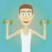 Muscle clicker: Gym game MOD APK 1.4.5