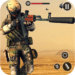 One Man Without Cover Fire Army Gun Shooting Games MOD APK 2.0
