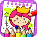 Princess Coloring Book & Games MOD APK 1.38
