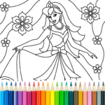 Princess Coloring Game MOD APK 14.0.2
