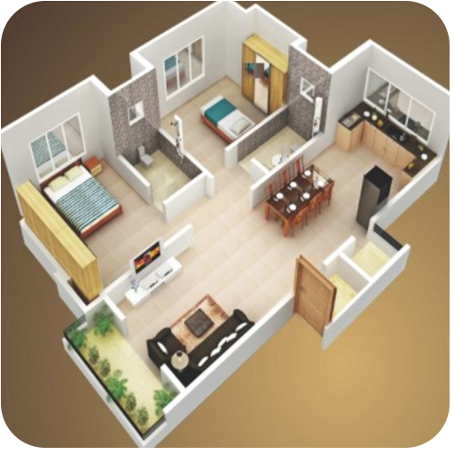 3D house plan designs MOD APK 1.4