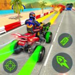 ATV Quad Bike Racing Simulator: Bike Shooting Game MOD APK 1.3