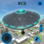 Alien Flying UFO Simulator Space Ship Attack Earth MOD APK 1.1