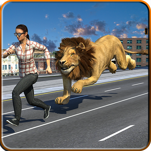 Angry Lion City Attack : New Year Party Hunting MOD APK 1.0