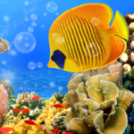 Aquarium Live Wallpaper 🐟 Fish Tank Background MOD APK 2.7