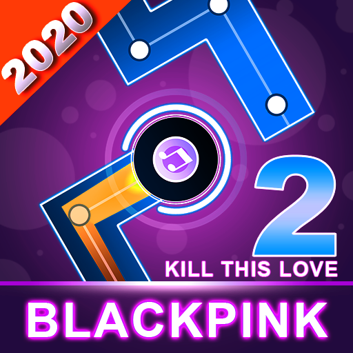 BLACKPINK Dancing Balls:KPOP Music Dance Line Game MOD APK 3.3.3.3