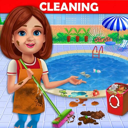 Big Home Cleanup and Wash : House Cleaning Game MOD APK 2.0.6