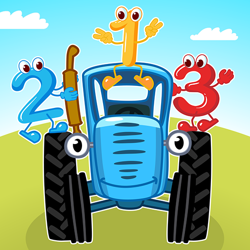 Blue Tractor: Learning Games for Toddlers Age 2, 3 MOD APK 1.0