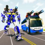 Bus Robot Car Transform War –Police Robot games MOD APK 1.8