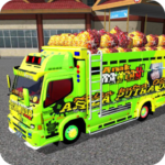 Bussid Mod Truck Canter Indonesia MOD APK 2.0