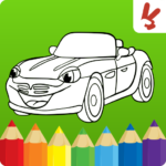 Cars coloring book for kids MOD APK 1.22