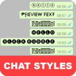 Chat Styles: Cool Font & Stylish Text for WhatsApp MOD APK 6.0