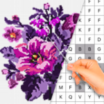 Color by Letter – Sewing game  Cross stitch MOD APK 1.0.15