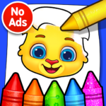 Coloring Games: Coloring Book, Painting, Glow Draw MOD APK 1.4