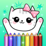 Coloring Pages Kids Games with Animation Effects MOD APK 5.2