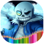Coloring book for Undertale MOD APK 5.0