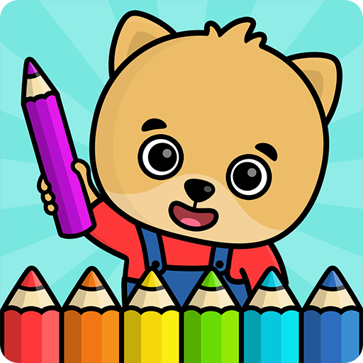Coloring book for kids MOD APK 1.101