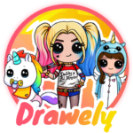 Drawely – How To Draw Cute Girls and Coloring Book MOD APK 5.0