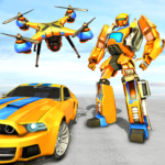 Drone Robot Car Game – Robot Transforming Games MOD APK 1.0.3