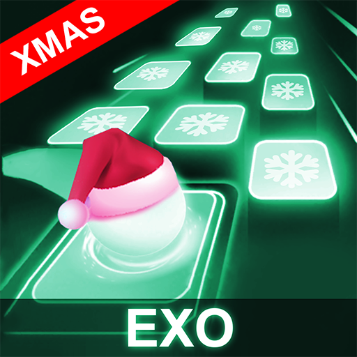 EXO Hop: Obsession KPOP Music Rush Dancing Tiles! MOD APK 8.0.2