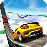 Extreme Impossible Track Car Stunt Drive Simulator MOD APK 1.0.0