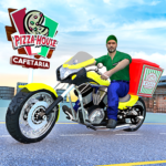 Fast Moto Pizza Delivery Game-Pizza Games for Free MOD APK 1.0.1