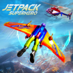 Flying Jetpack Hero Crime 3D Fighter Simulator MOD APK 1.1