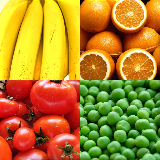 Fruit and Vegetables, Nuts & Berries: Picture-Quiz MOD APK 1.3