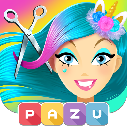 Girls Hair Salon Unicorn – Hair makeover game MOD APK 2.18