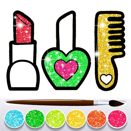 Glitter Beauty Accessories Coloring and drawing MOD APK 9.0