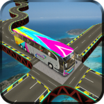 Impossible Bus Simulator Tracks Driving MOD APK 1.3