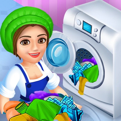 Laundry Service Dirty Clothes Washing Game MOD APK 1.23