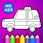 Learn Coloring & Drawing Car MOD APK 4.0