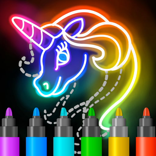 Learn to Draw Glow Cartoon MOD APK 1.0.14