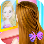 Little Princess Magical Braid updo Hairstyle Salon MOD APK 1.19