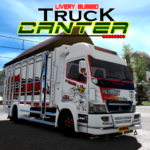 Livery Bussid Truck Canter MOD APK 6