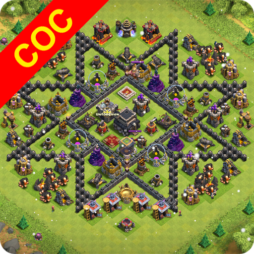 Maps of Clash Of Clans MOD APK 1.4.0
