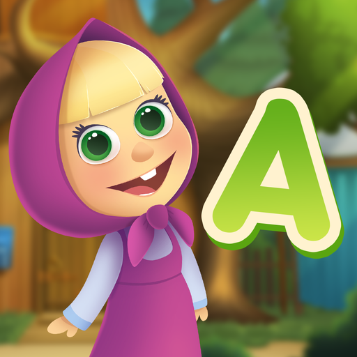 Masha and the Bear: Let's Learn Words MOD APK 1.2.4