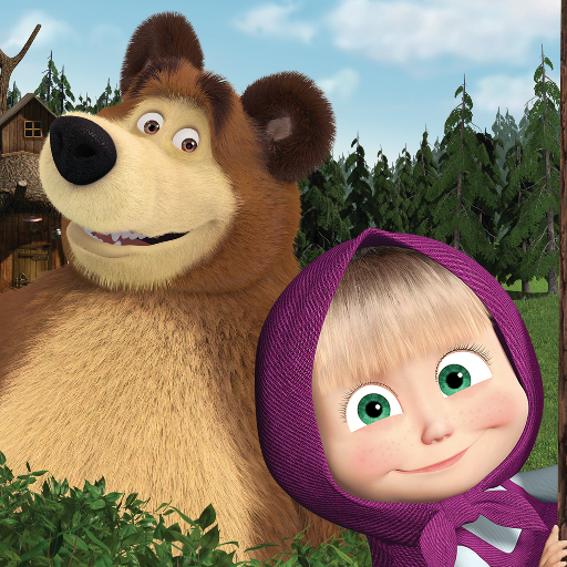 Masha and the Bear. Educational Games MOD APK 5.7
