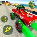Monster Truck Racing Games: Transform Robot games MOD APK 1.0.1