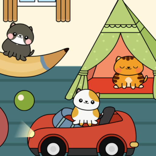 My Cat Town😸 – Free Pet Games for Girls & Boys MOD APK 1.1