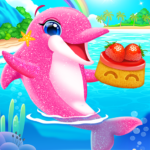 My Dolphin Care – Baby Dolphin Twins Pet Care MOD APK 1.0