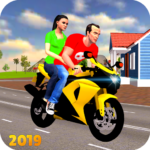 Offroad Bike Taxi Driver: Motorcycle Cab Rider MOD APK 1.1