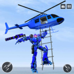 Police Helicopter Robot Transformation MOD APK 1.0.5